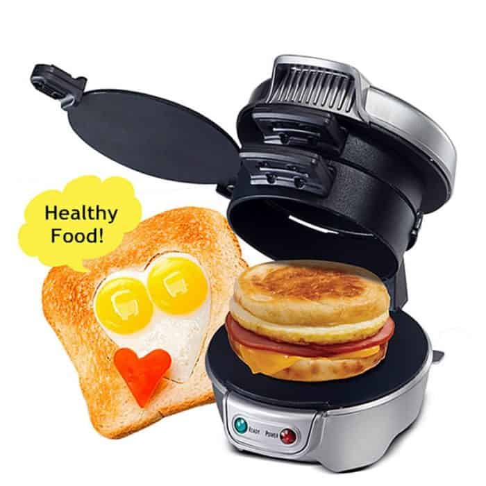 Sandwich Maker Breakfast Toastie Grill