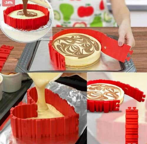 Top 50 Breakfast Making Tools: Silicone Cake Molder